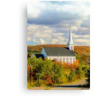 St Mary's Church, Mabou, Cape Breton Canvas Print