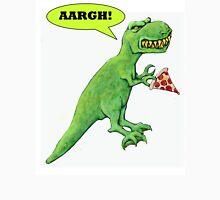 T-rex with Pizza Unisex T-Shirt