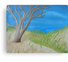 Tree of Solitude Canvas Print