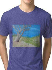 Tree of Solitude Tri-blend T-Shirt