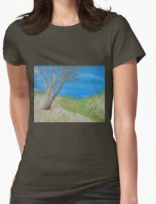 Tree of Solitude Womens Fitted T-Shirt