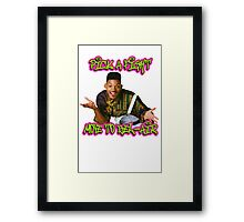 Pick a fight move to Bel-Air Framed Print