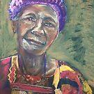 Purple Hat by Shirlroma