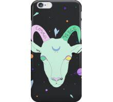 Cosmic Vegan Goat. iPhone Case/Skin