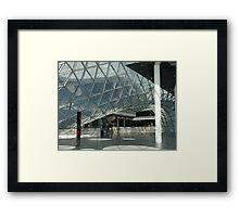 MyZeil Shopping Mall    Framed Print