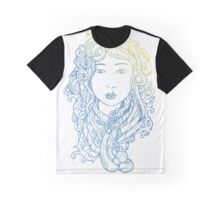Yuki Tech Hair  Graphic T-Shirt