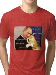 Putin doge Tri-blend T-Shirt