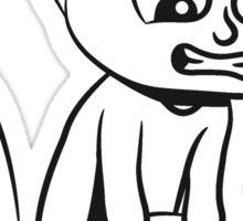 wc little boy Sticker
