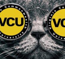 Vcu sunglass cat  Sticker