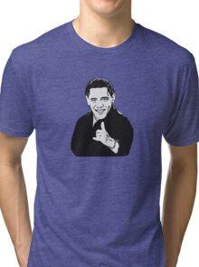 HANG LOOSE Obama Tri-blend T-Shirt