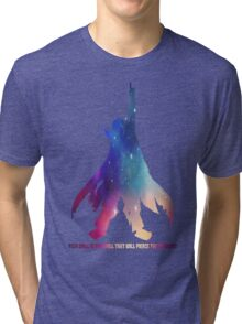 Kamina Gurren Lagann Tri-blend T-Shirt