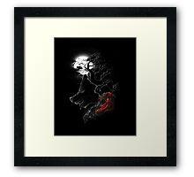 Red Walking Misfits  Framed Print