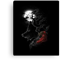Red Walking Misfits  Canvas Print