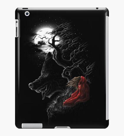 Red Walking Misfits  iPad Case/Skin
