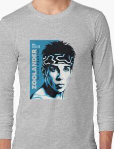 the blue steel man Long Sleeve T-Shirt