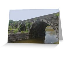 Aqueduct - Finger Lakes Greeting Card