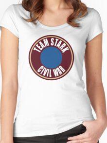 team stark civil war Women's Fitted Scoop T-Shirt