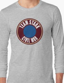 team stark civil war Long Sleeve T-Shirt