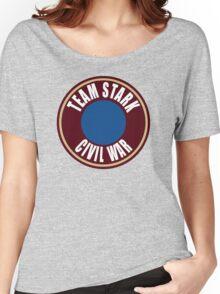 team stark civil war Women's Relaxed Fit T-Shirt