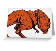 Rex Attack! Greeting Card