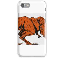 Rex Attack! iPhone Case/Skin