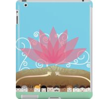 Peace in your hands iPad Case/Skin