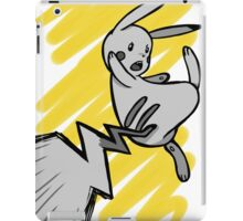 Pikachu iron tail attack iPad Case/Skin