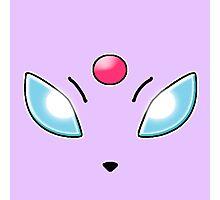 Espeon (Pokemon) Photographic Print