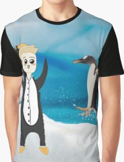 luke penguin Graphic T-Shirt