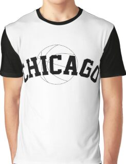 Chicago Basketball [BLACK] Graphic T-Shirt