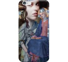 Maddona with Christ Child number 79. iPhone Case/Skin