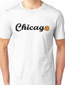 Chicago attached ball [BLACK] Unisex T-Shirt