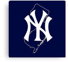 New york yankees- new jersey fan Canvas Print