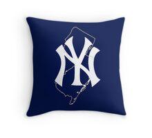 New york yankees- new jersey fan Throw Pillow
