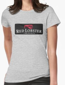 Red Lobster Beyonce Womens Fitted T-Shirt