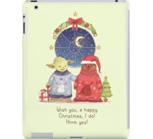Hrm, Christmas Jumpers, yes! iPad Case/Skin