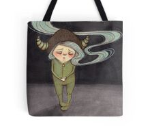 Sad Little Gnome Girl Tote Bag
