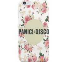 Panic! AT The Disco Floral Design (P!ATD) iPhone Case/Skin