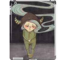 Sad Little Gnome Girl iPad Case/Skin