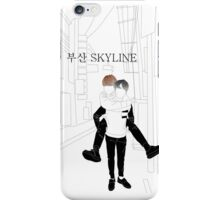 BUSAN SKYLINE iPhone Case/Skin