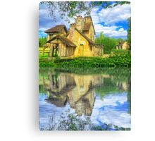 Queen Marie-Antoinette Hamlet Cottage Versailles Paris France Canvas Print