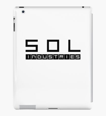 SOL INDUSTRIES iPad Case/Skin