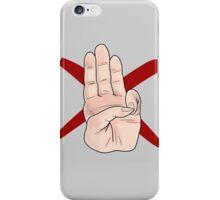 Three Finger Salute iPhone Case/Skin