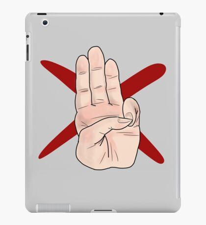Three Finger Salute iPad Case/Skin