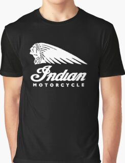 Indian Motorcycle Classic Logo Graphic T-Shirt