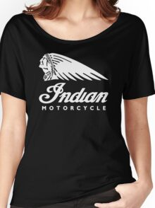 Indian Motorcycle Classic Logo Women's Relaxed Fit T-Shirt