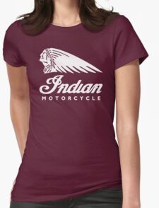 Indian Motorcycle Classic Logo Womens Fitted T-Shirt
