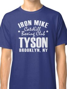 Iron Mike Tyson Catskill Boxing Club Classic T-Shirt