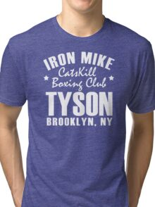 Iron Mike Tyson Catskill Boxing Club Tri-blend T-Shirt