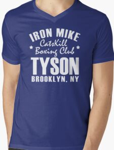 Iron Mike Tyson Catskill Boxing Club Mens V-Neck T-Shirt